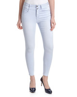 light-wash Chloe High-Waisted Skinny Fit Jeans