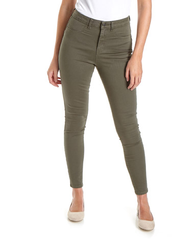 khakiHolly High Rise Skinny Fit Jeans