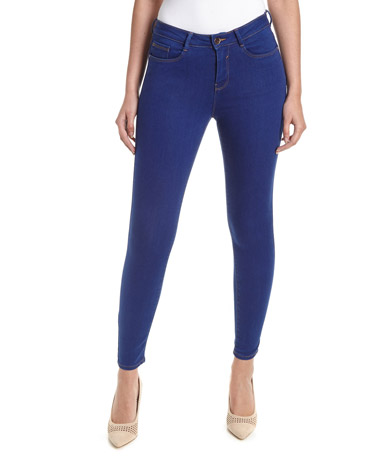 Jessie Mid Rise Skinny Fit Jeans