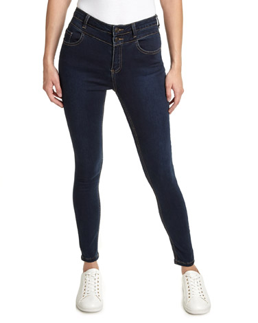 indigoChloe High Waist Skinny Fit Jeans