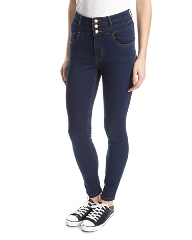 mid-washChloe High Waist Skinny Fit Jeans