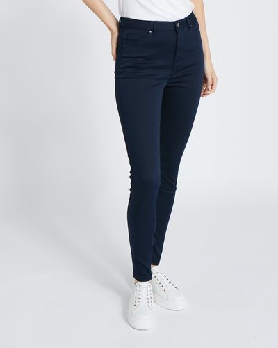 Mid Rise Stretch Skinny Jeans