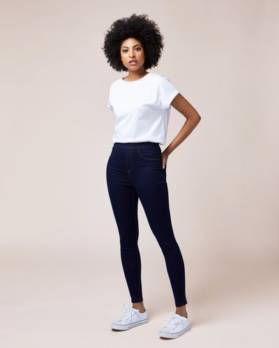 Cotton-Rich Jeggings