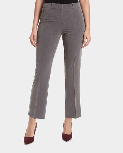 Zip Bootcut Trouser
