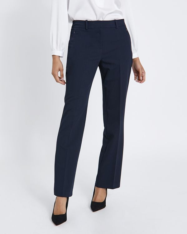 Zip Bootcut Trousers