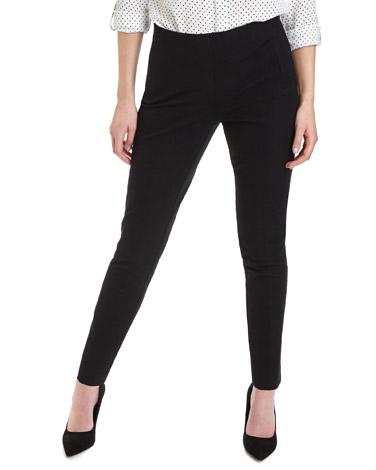 blackCotton Stretch Twill Trousers