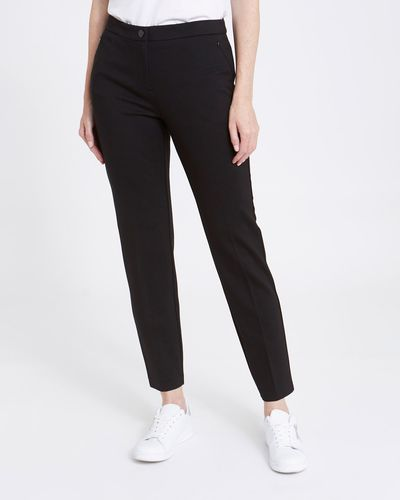 Zip Pocket Ponte Trousers