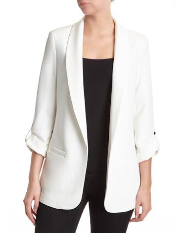 ivoryEdge To Edge Roll Sleeve Jacket