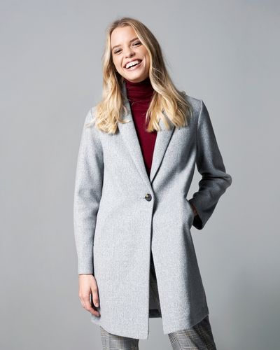 Crombie Style Unlined Coat