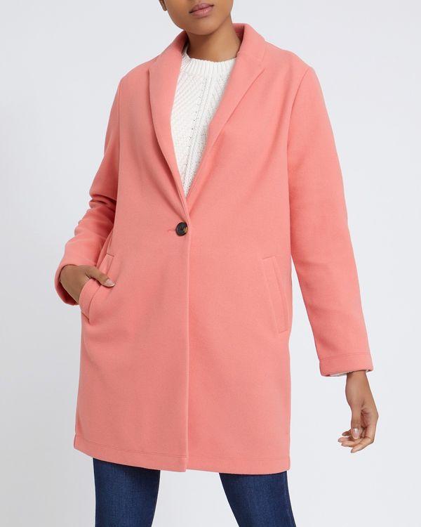 Crombie Style Unlined Coat