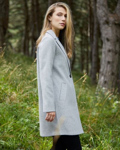 Single Breasted Tailored Coat thumbnail