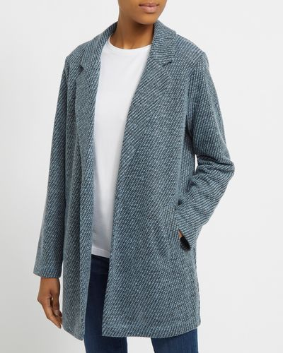 Collar And Revere Boucle Jacket