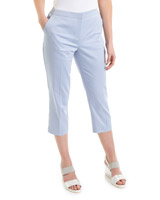 blue Cotton Rich Cropped Trousers