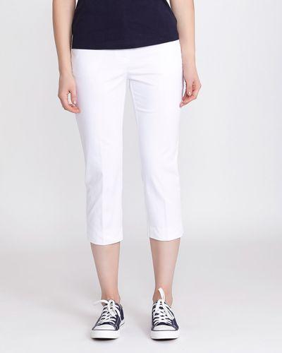 Cotton Rich Cropped Trouser