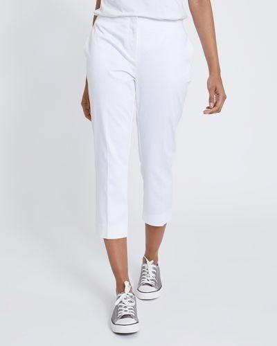 Cotton Rich Cropped Trousers thumbnail