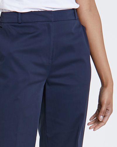 Cotton Rich Knee Shorts