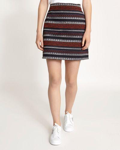 Aztec Textured Mini Skirt thumbnail