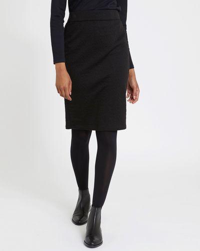 Jacquard Pull On Pencil Skirt