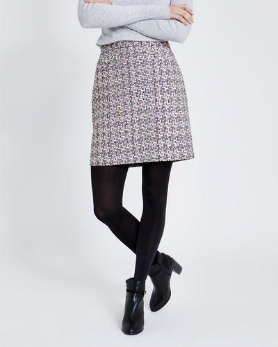 Button Boucle Skirt