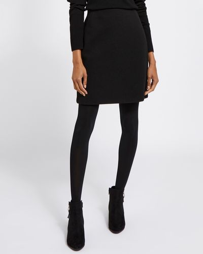 Melton Mini Skirt