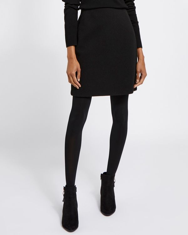 Melton Mini Skirt