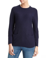 navy Pocket Jumper