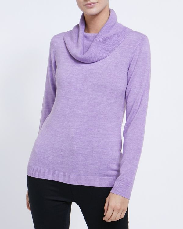 Cashmilon Cowl Neck Jumper