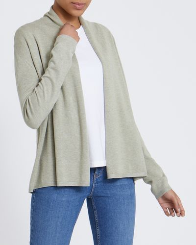 Short Edge To Edge Cardigan