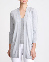 grey-marl Pocket Cardigan