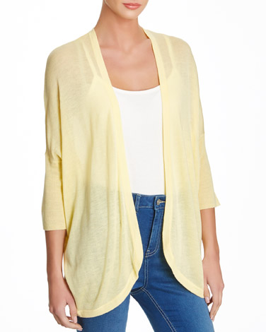 lemon Cocoon Cardigan