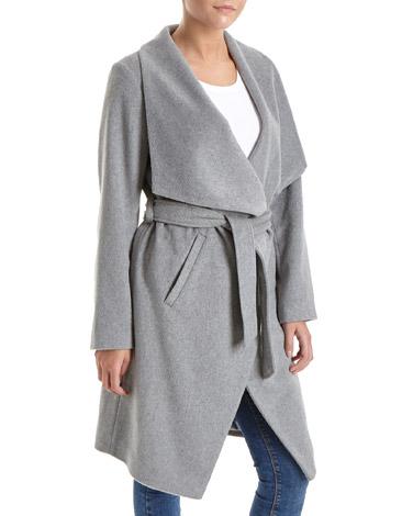 greyWaterfall Throw On Coat