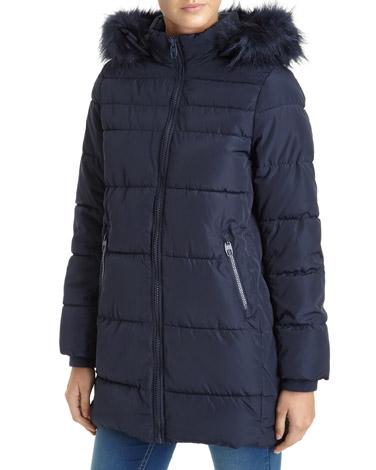 navyCocoon Padded Coat