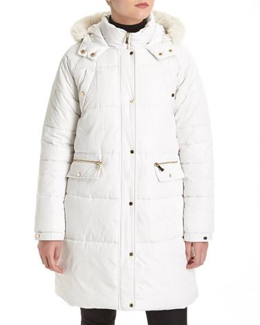 winter-whiteDuvet Padded Coat