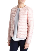 blush Collarless Superlight Jacket