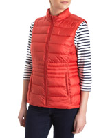 red Super-Light Gilet