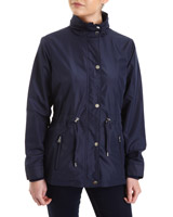 navy Fleece Lined Jacket