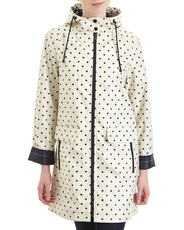 spot Spot Coated Parka