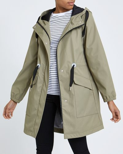 Jersey Lined Raincoat