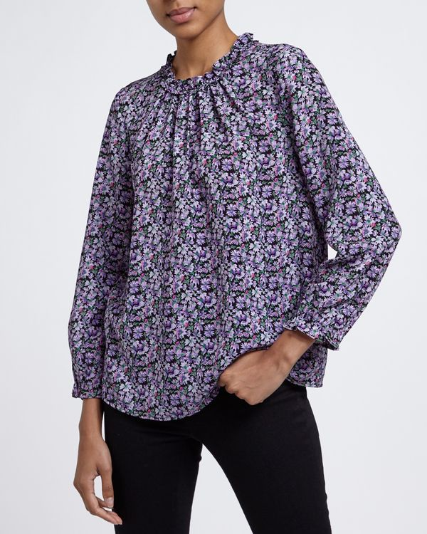 Frill Neck Top
