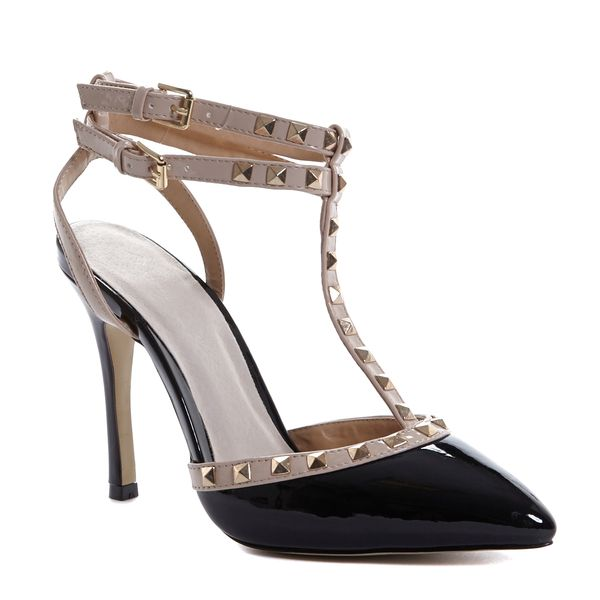 Savida Studded Court Shoes