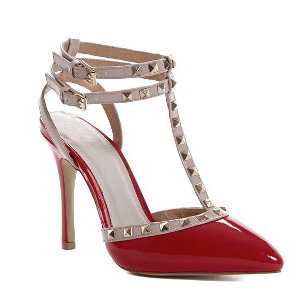 Savida Studded Court Shoes