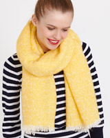 yellow Savida Two Colour Scarf