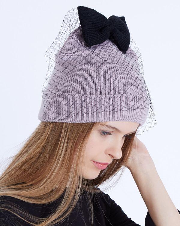 Savida Bow Mesh Hat