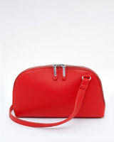 red Savida Half Moon Crossbody