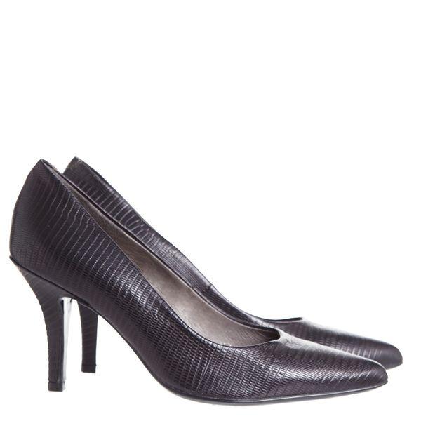 Italian Design Leather Court Shoe
