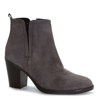 Italian Design Suede Ankle Boot thumbnail