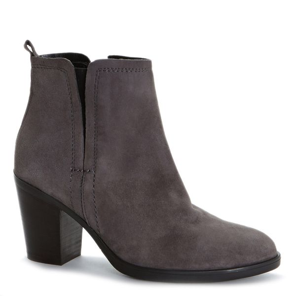 Italian Design Suede Ankle Boot