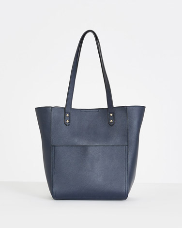 navyGallery Pocket Hobo Bag