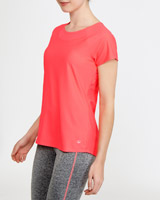 coral Back Detail T-Shirt