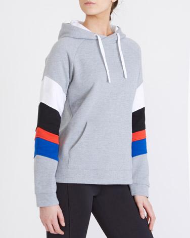 greyColour Block Sweatshirt
